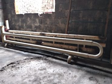Батареи обогреватель водяные .длина3м20см и 3м.торг в Бишкек