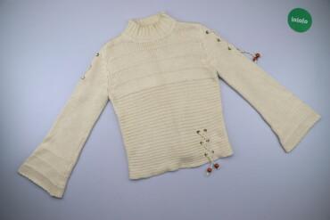 Жіночий светр зі шнурівкою на рукавах Yuan Da, p. S/M    Довжина: 55 с