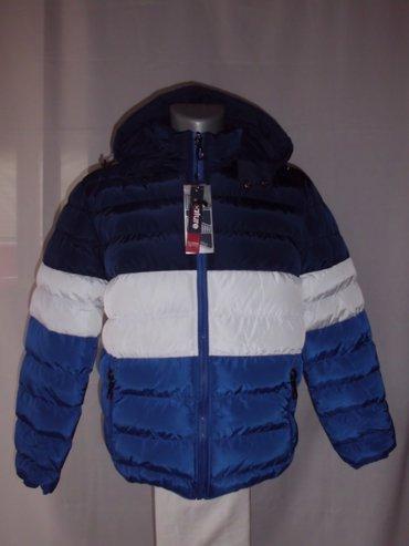 Br. 12 muska zimske  fatirane jakne, kapuljaca moze da se skida, kombi - Beograd
