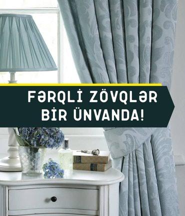 Bakı şəhərində Pərdə və tül mağazamız artıq sizin xidmətinizdədir.