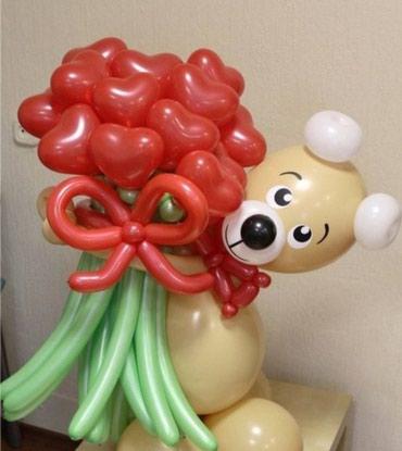 Арки и игрушки из шаров в Бишкек