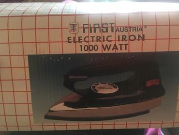 Pegla First Austria 1000 Watt, pegla je nova nekoriscena - Nis