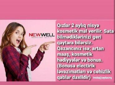 New well kosmetika firmasi 1 aylik nisiye mehsul verir satdigini sat