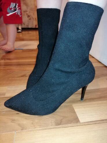 Ženska obuća | Pirot: Zenske polu cizmice kao nove, bez ikakvih ostecenja u broju 39