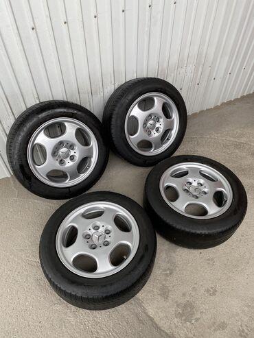 Продаю оригинальные диски Mercedes Benz MEKAB R16 215/55/16 Mishelin