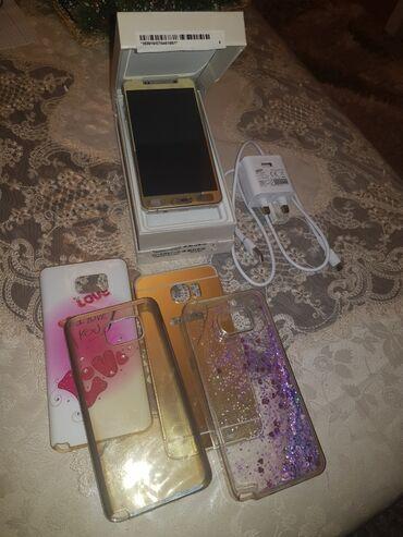 Samsung galaxy note - Азербайджан: Б/у Samsung Galaxy Note 5 32 ГБ Золотой