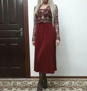 Продаю вечернее платье. размер 42-44. Практически новое. в Бишкек