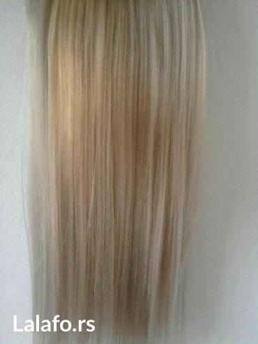 Kosa na klipse - Beograd: Umetak za kosu na klipse. U svim bojama. Kosa je poluprirodna i veoma