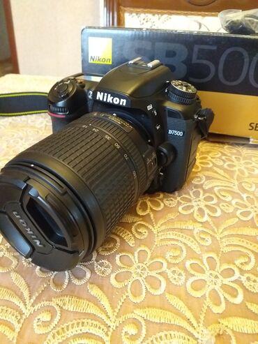 pupslar üçün aksesuarlar - Azərbaycan: Nikon d7500+18-140 obyektiv+vspishka sb 5000Seliqeli ishlenib.probeg