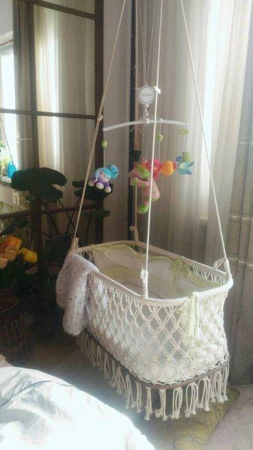 Люлька для новорожденного...Плетем подвесные люльки на заказ. Она в Бишкек