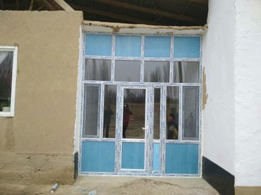пластиковые окна,двери,витажы на закас любой сложнастю качества гарант в Бишкек