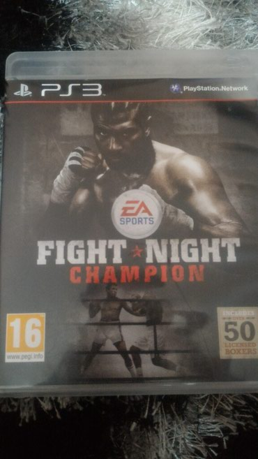 Игра на Playstation 3, Fight Night Champion в Бишкек