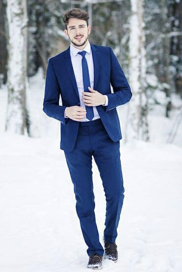 Сдается в аренду Мужской костюм с брюком, новый!
