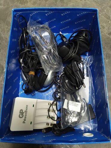 веб камера без микрофона в Кыргызстан: Коробка с барахлом. Веб-камера, наушники для ноута или компа с микрофо