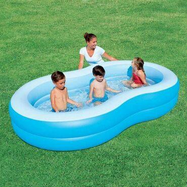 BESTWAY porodični bazen 8950 rsdDimenzije: 262x157x46 cmZapremina: 544