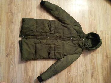 Теплая куртка на зиму  Цвета Хаки