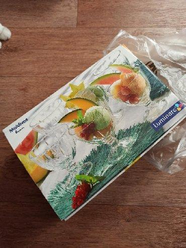 luminarc francuzskoe steklo в Кыргызстан: Набор креманок новый. 500 сом, окончательно