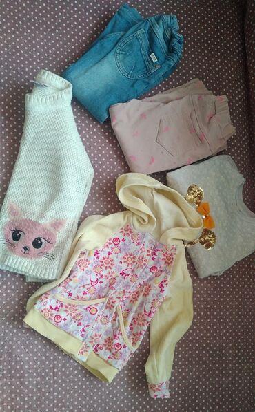 Вещи на весну на девочку 3-4года. Цена за все вещи