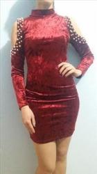 Prelepa, moderna mini haljina  - Crvenka