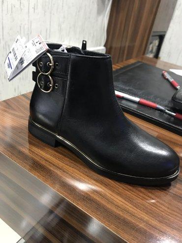 размер не подошел в Кыргызстан: Ботинки Zara. Кожанные. Размер 32. Со специальными антибактериальными