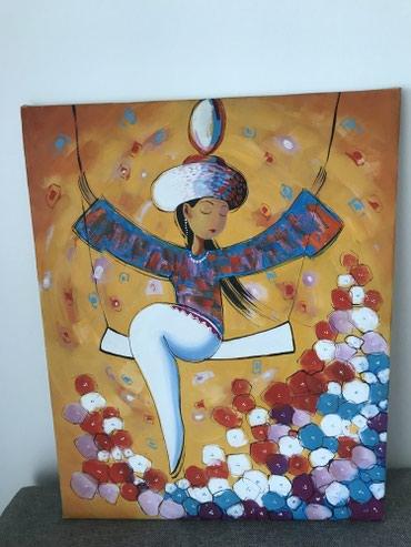 Картины маслом Жумабаева Размеры: 40х50, 50х70  5 тыс каждая  в Бишкек