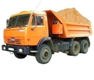 продаю мытый речной песок  0,3 0,5 фракции для стяжки и для бетона. 1  в Бишкек
