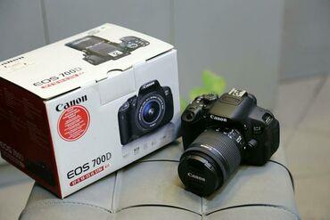 canon eos 5d mark ii в Азербайджан: Canon EOS 700D 18-55mm STM prabeg 5K  tam ideal veziyyeyde