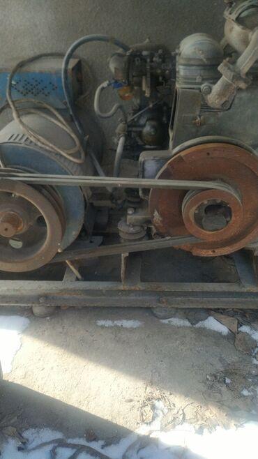 Инструменты - Кыргызстан: Трёхфазный бензиновый генератор 10 квт