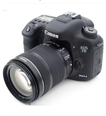 сони фотоаппарат в Кыргызстан: Продаётся фотоаппарат canon 7д markii с объективом canon 18-135