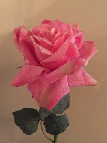 Супер роза розовая ,длина 95 см. в Бишкек
