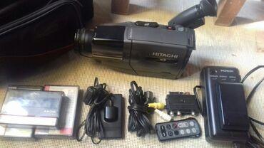 kaset - Azərbaycan: Videokamera SATILIR usdunde batereka 4 kaset telefizora qosulan sun