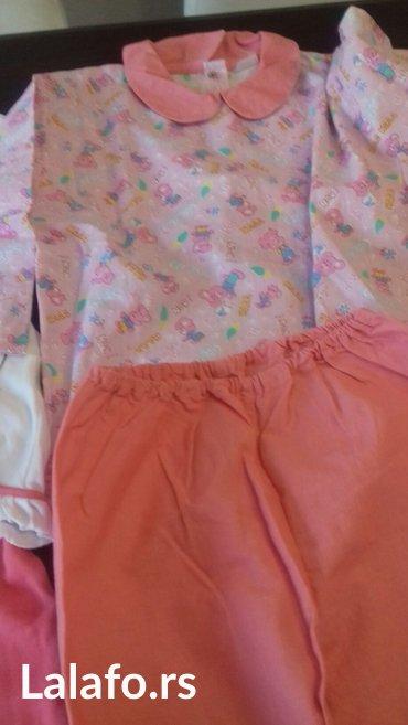 Pidžame za devojcice 3 komada  veličina 6-8 - Pozarevac