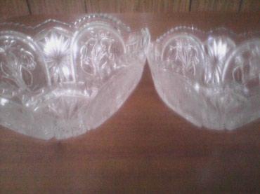 Хрустальные вазы большие салатницы в Бишкек