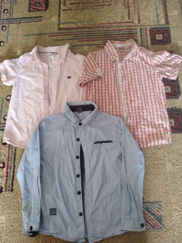 Рубашки фирменные . На 4-5 лет . Рост 104120 см . По 100 сомодели