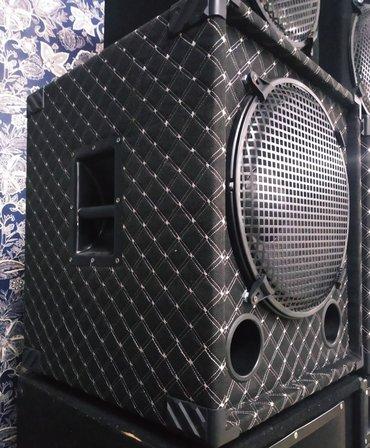 Динамики и музыкальные центры в Токмак: Колонки 15-ки под низы и средних частот