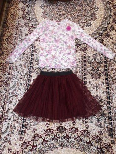 кофта и платье новые на 10-12 лет в Бишкек