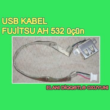 """Bakı şəhərində USB Kabel """"Fujitsu AH 532"""" (İşlənmiş)"""
