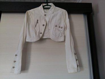Teksas jakna bela, potpuno nova, bez ikakve greške, vel s in Novi Sad