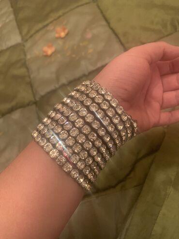 Шикарный браслет спираль из суворовских камней на любую руку