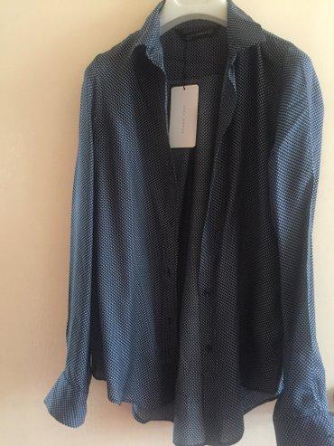 Новая рубашка zara, шелк с визкозой. в Лебединовка