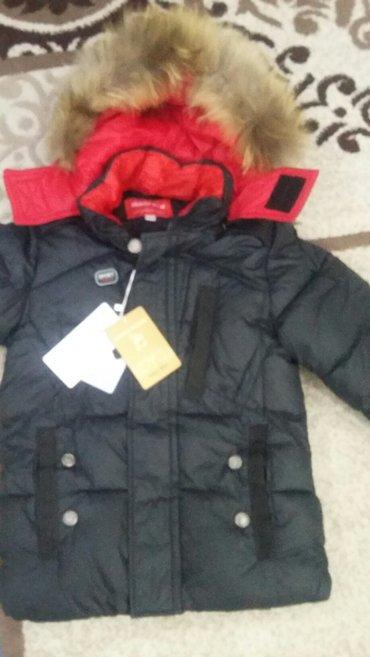 Продаю новую куртку 122 см, на мальчика в Бишкек