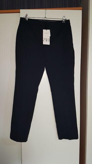 10500 elan   QADIN GEYIMLƏRI: Oriqinal klassik Zara firmasi yeni etikelto L razmer belj arxadan