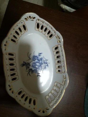 Aksesoari | Srbija: Ukrasna porcelansks činija 25 cm