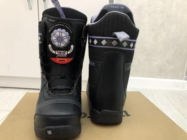 snoubord zhenskij в Кыргызстан: Женские сноубордические ботинки. Размер 39, немного маломерят. Система