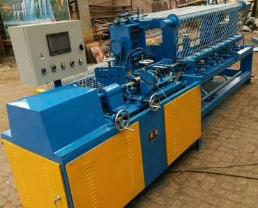 станок для сетки мак в Кыргызстан: Станок для изготовления сетки рабицы полуавтомат и автомат