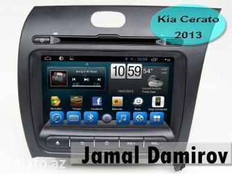Bakı şəhərində Kia Cerato 2013 üçün DVD-monitor, DVD-монитор для Kia Cerato 2013.