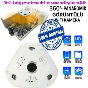 Bakı şəhərində Yeni 360° Wi-fi panorama kamera
