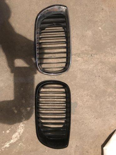 Ноздри,решетки на БМВ е46 рестайл!!! Целые,паоу креплений сломаны,но м в Бишкек