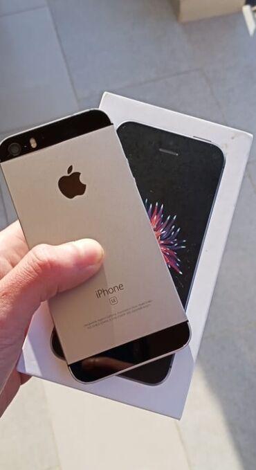 İşlənmiş iPhone SE 32 GB Boz (Space Gray)