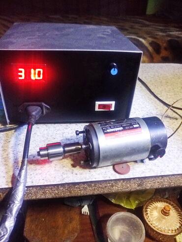 Мотор - шпиндель для мини фрез. сверл. станков . Мотор на пром